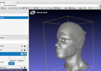 MeshLabJS: the run-in-browser mesh processing tool